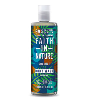 Faith in Nature gel za prhanje kokos