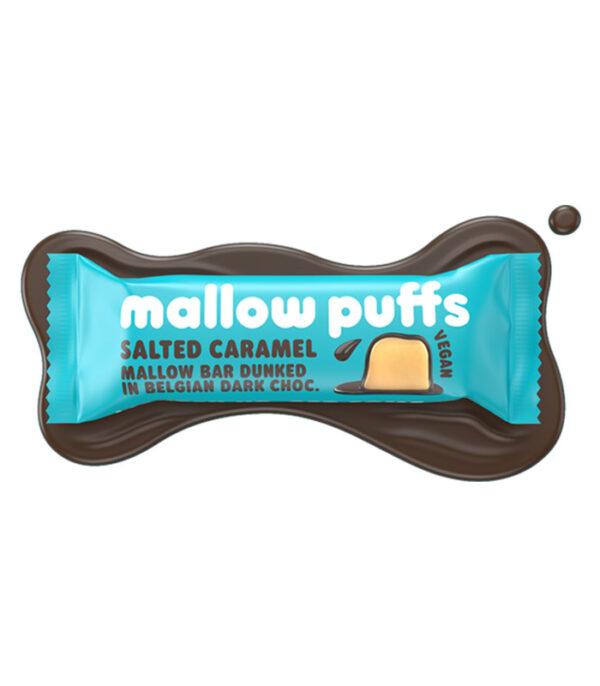 Mallow Puffs slana karamela penica v čokoladi