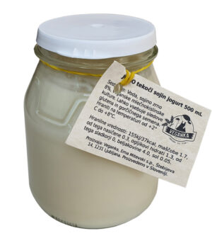 Veganka JO-GO sojin jogurt, 500ml