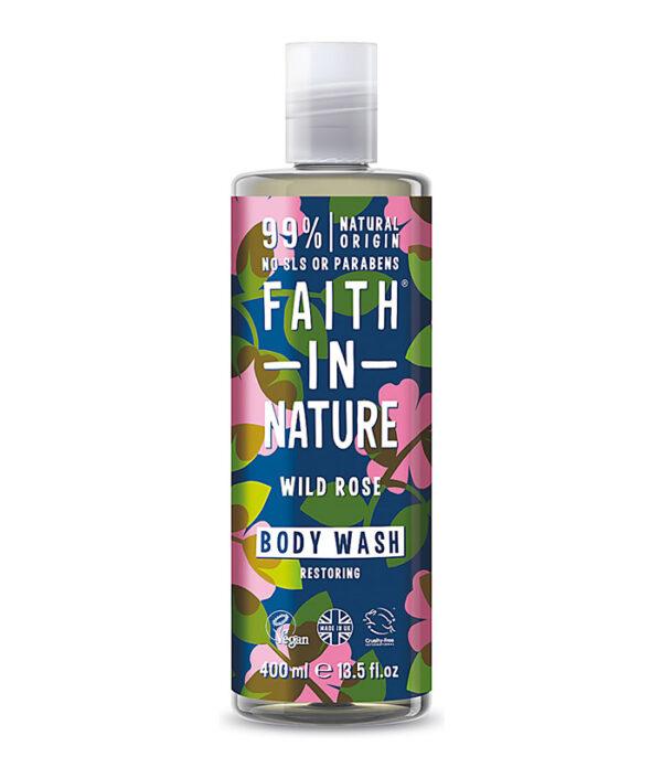 Faith in Nature gel za prhanje Vrtnica