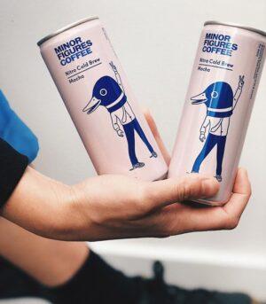 Minor Figures Mocha - Cold Brew kava s kakavom in ovsenim napitkom