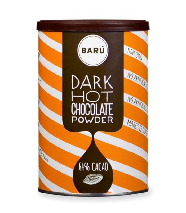 Veganska temna vroča čokolada