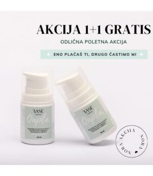 Base Cosmetics krema Qapla 1+1 GRATIS