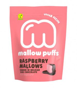 Mallow Puffs malinine penice v čokoladi