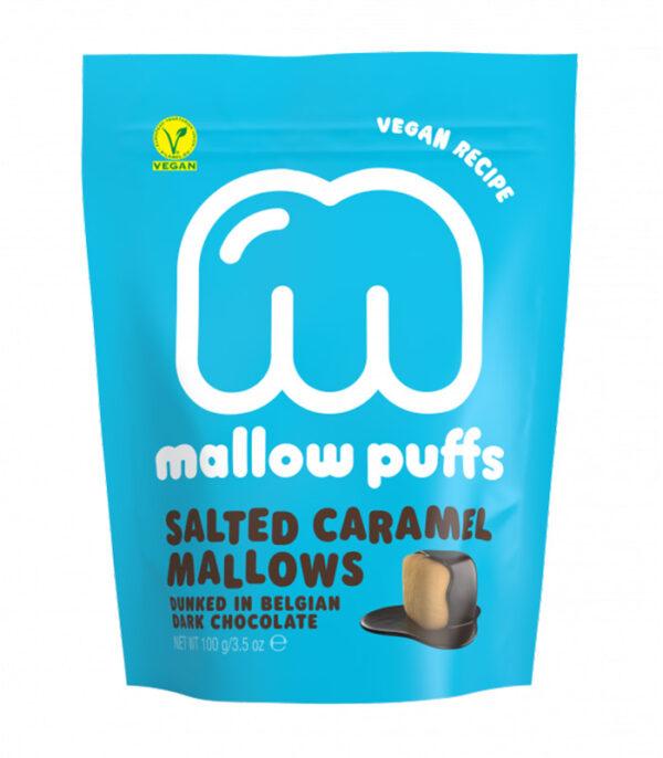 Mallow Puffs slana karamela penice v čokoladi