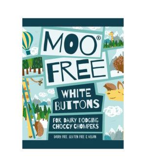 Moo Free gumbki iz bele čokolade