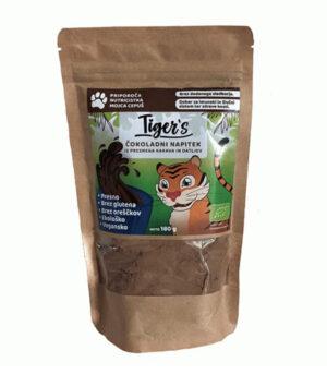 Tiger's kakavov napitek z okusom čokolade in datljev