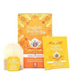 English Tea Shop bio čaj Kurkuma, Ingver in Limonska trava