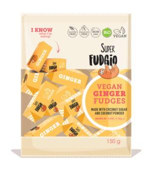 Bio Super Fudgio Ingver veganski karamelni bonboni