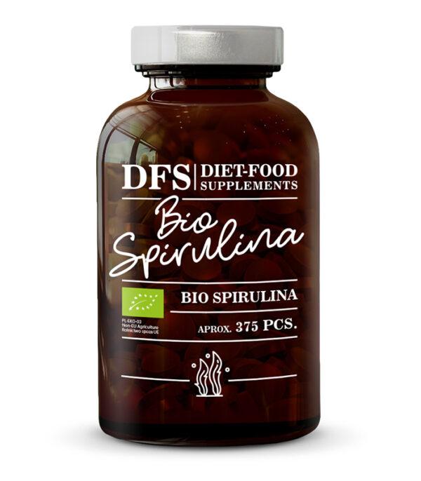 Diet-Food Bio spirulina, 375 tablet