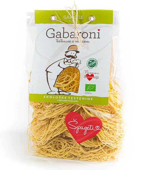 Gabaroni durum Špageti No.3 bio ekološki