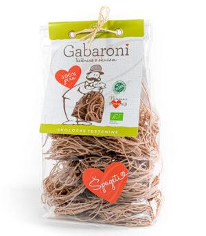 Gabaroni ekološki pirini Špageti