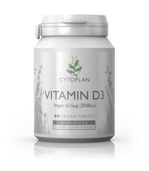 cytoplan veganski vitamin D3