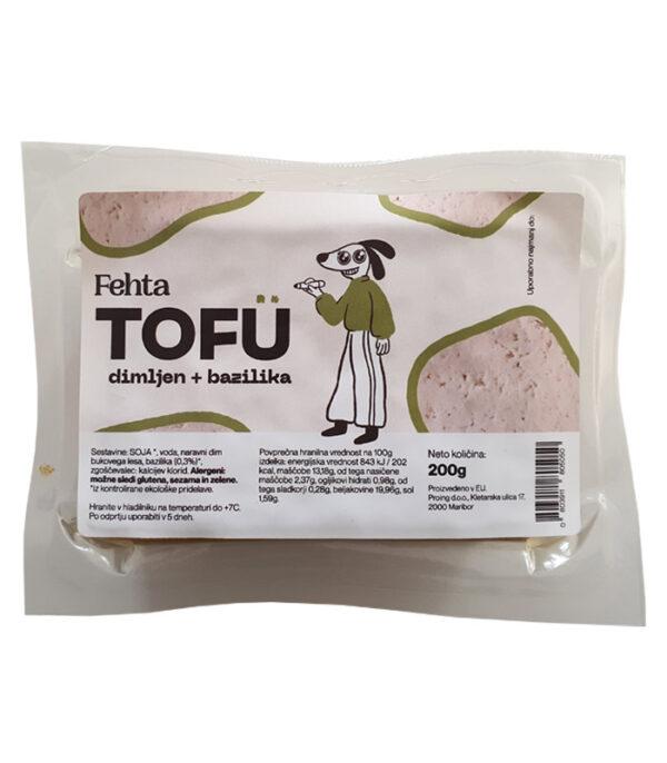 fehta dimljen tofu bazilika