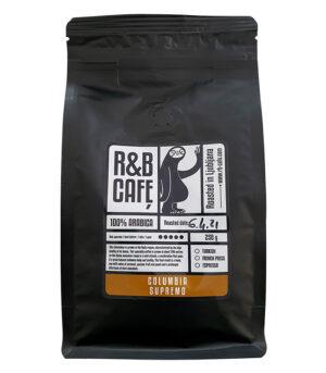 R&B Cafe Columbia Supremo kava