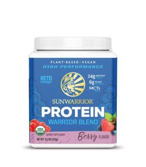 Sunwarrior Warrior blend veganski proteini jagodičevje