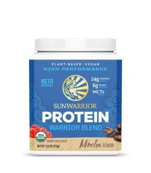 Sunwarrior Warrior blend veganski proteini z okusom Mocha