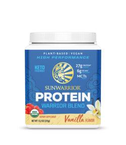 Sunwarrior Warrior blend veganski proteini z okusom vanilija