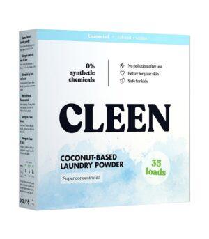 CleenCare pralni prašek na osnovi kokosa