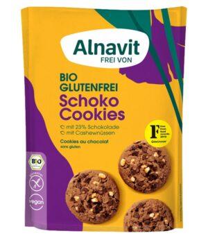Alnavit bio čokoladni piškoti, brez glutena