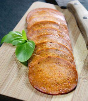 Wheaty narezana Chorizo seitan salama
