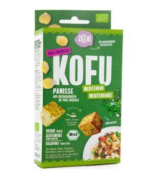 Ekološki Kofu z mediteranskimi zelišči čičerikin tofu