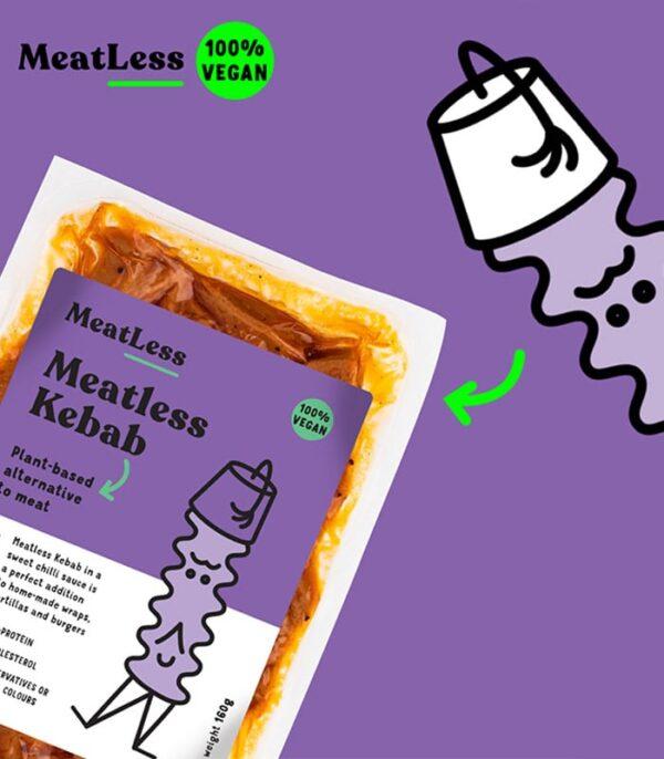 Plenty Reasons brezmesni Kebab - veganski kebab