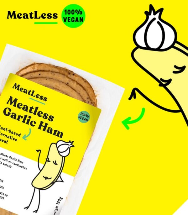 Plenty Reasons brezmesna šunka s česnom - veganska šunka