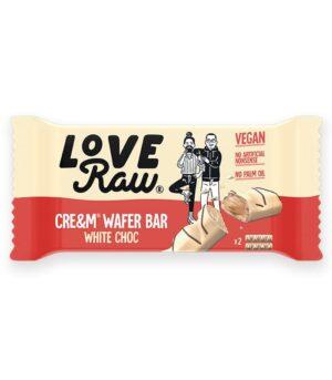 LoveRaw Wafer s kremno belo čokolado - vegan bueno