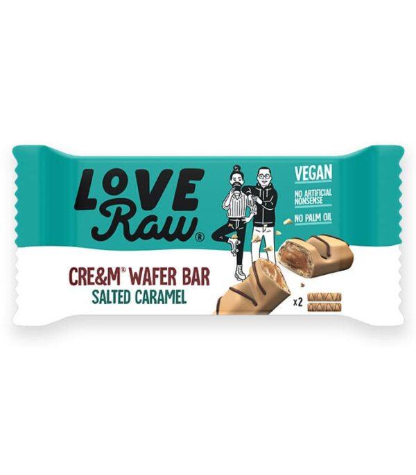 LoveRaw Wafer s kremno slano karamelo - vegan bueno