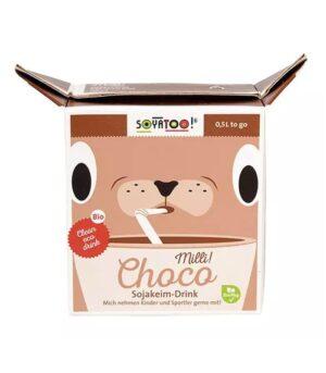 Soyatoo bio sojino čokoladno mleko