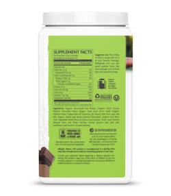 Sunwarrior Clean Greens & Protein Čokolada