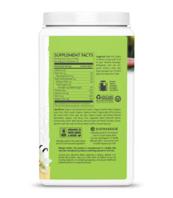 Sunwarrior Clean Greens & Protein Vanilija