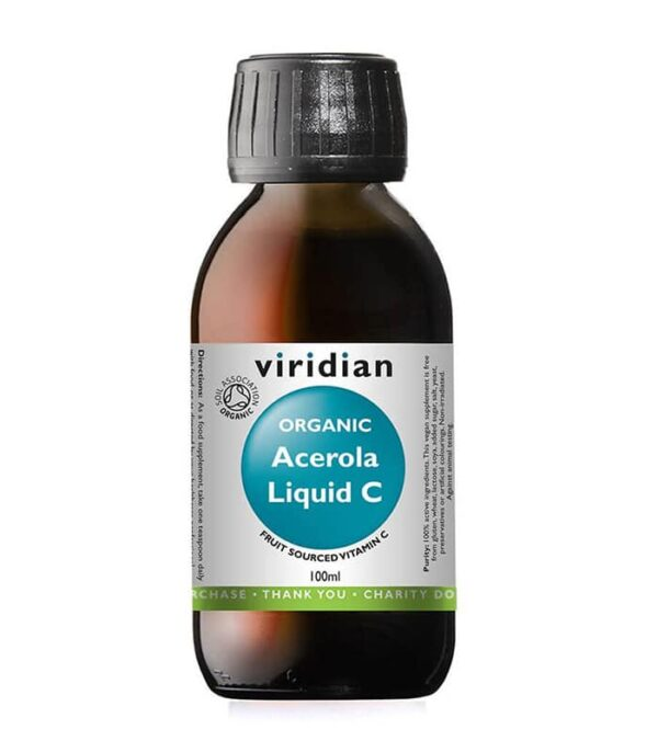 Viridian ekološka acerola vitamin C, 100 ml - bio