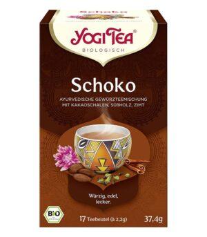 yogi tea čokoladni čaj